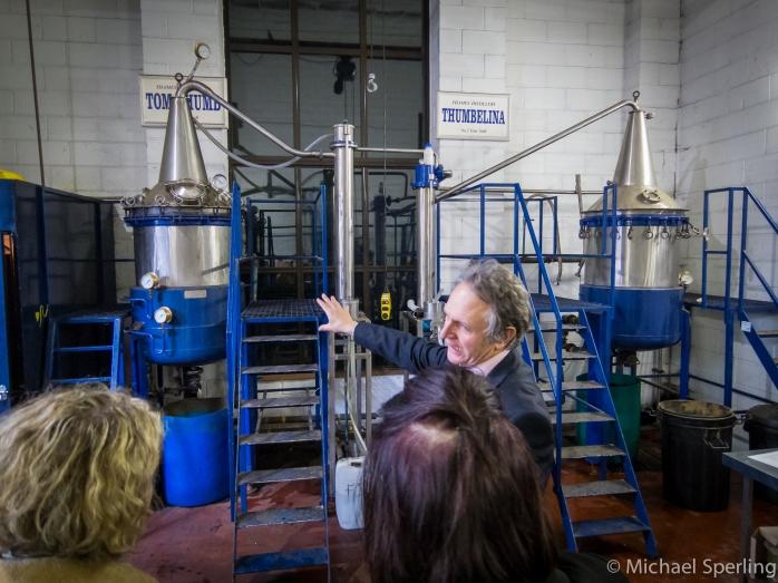De to destillatorer