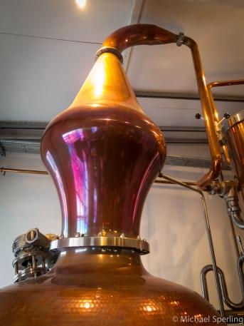 Destillatorens svanehals