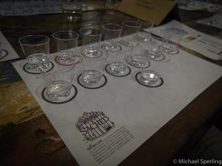 Sacred Gin opdelt i elementer