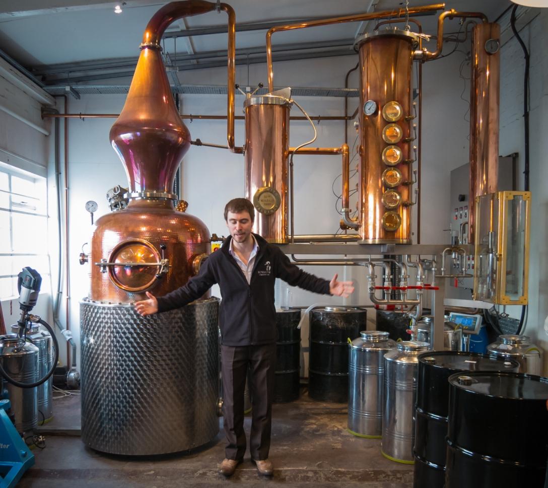 Sipsmiths destillator