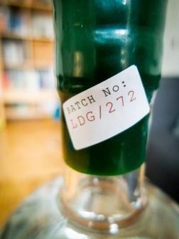 Batch no. on Sipsmith Gin
