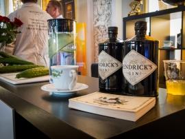 Hendrick's Gin and Tonic