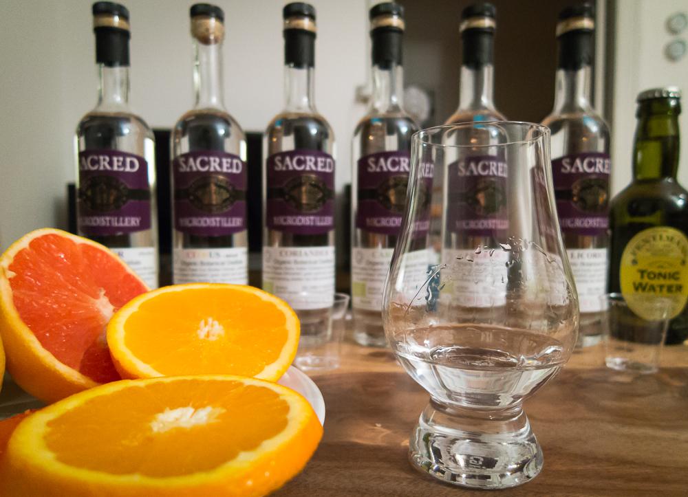 Sacred Gin med citrus