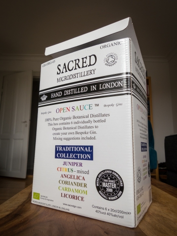 Sacred Open Sauce Botanical Collection