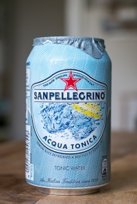 San Pellegrino Acqua Tonica. Photo by Michael Sperling.