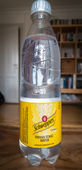 Schweppes Indian Tonic Water. Foto: Michael Sperling