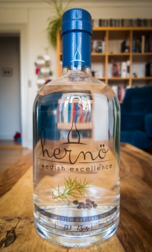 Hernö Swedish Excellence Gin. Foto: Michael Sperling