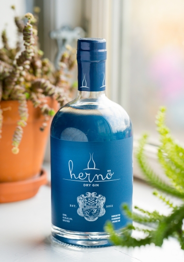 Hernö Dry Gin. Photo by Michael Sperling.