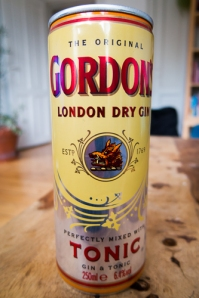 Gordon's London Dry Gin Perfectly Mixed with Tonic