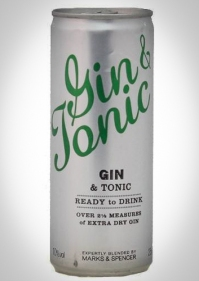 Marks & Spencer Gin & Tonic