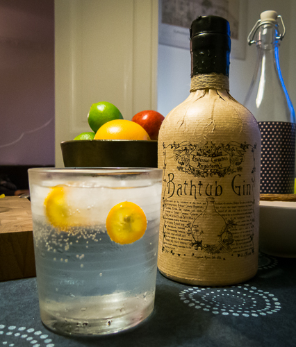 Bathtub Gin and Tonic. Foto: Michael Sperling