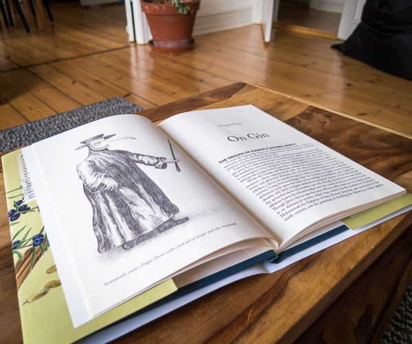 Illustrations in The Craft of Gin. Foto: Michael Sperling