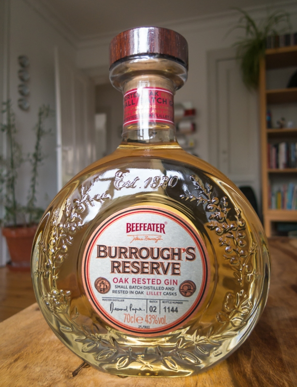 Beefeater Burrough's Reserve Oak Rested Gin. Photo: Michael Sperling