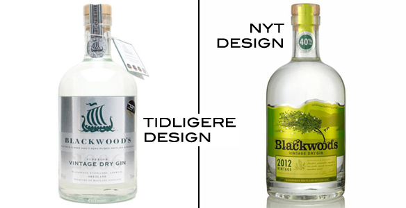 Blackwood Gin Redesign