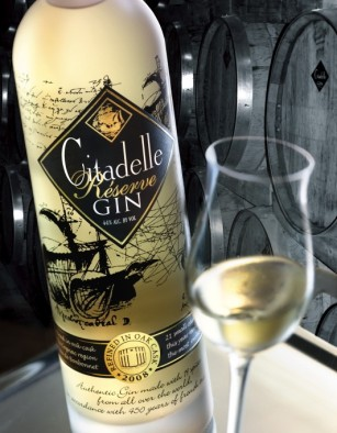 Citadelle Reserve Gin. Foto fra www.luxist.com