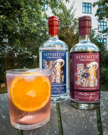 Sipsmith Autumnal Gin and Tonic. Foto: Michael Sperling