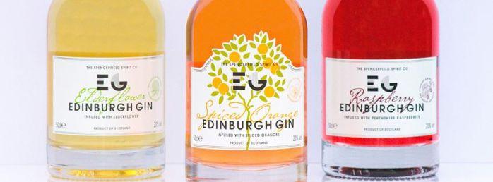 Edinburgh Gin varianter