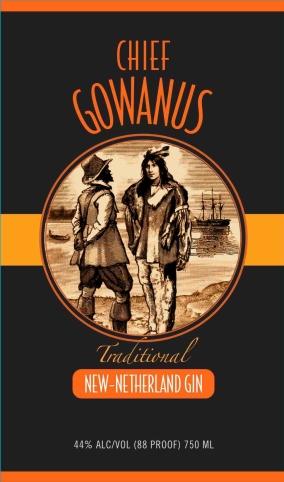 Chief Gowanus - New-Netherland Gin
