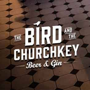 Logo for The Bird and The Churchkey