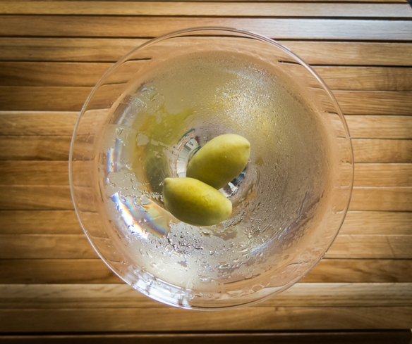 The Gentleman's Martini with Langley's No. 8 Gin. Photo by Michael Sperling