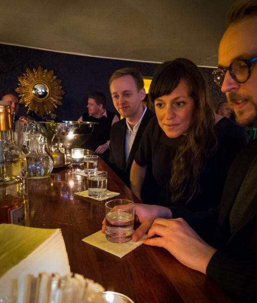 Nick Kobbernagel Hovinds cocktail session