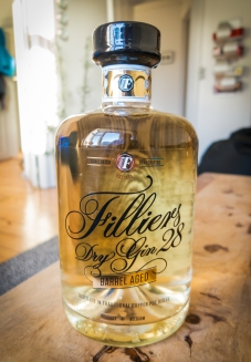 Filliers Dry Gin 28 Barrel Aged. Photo: Michael Sperling