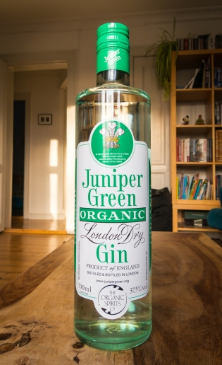 Juniper Green Organic Gin. Photo: Michael Sperling