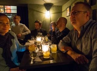 Cocktail session på Candeur