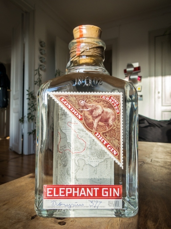 Elephant Gin. Photo by Michael Sperling
