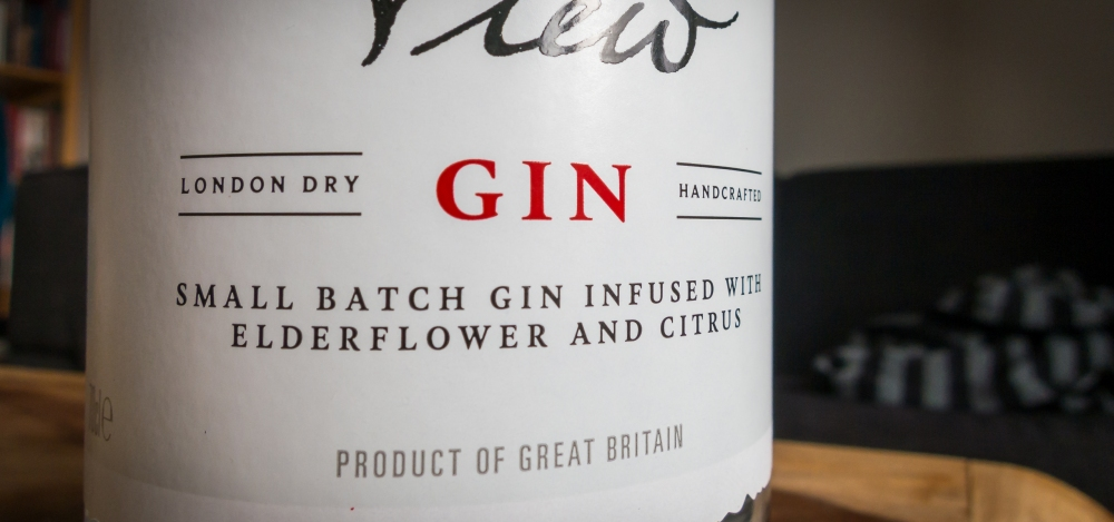 Darnley's View Gin label