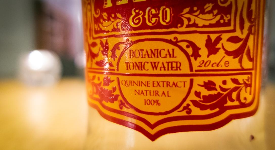 Indi Tonic Water label