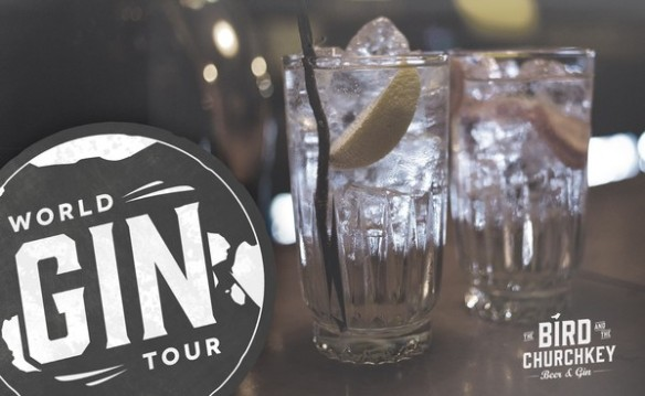 World Gin Tour. Foto: The Bird and The Churchkey.