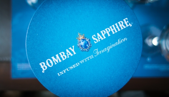 The Bombay Sapphire. Photo: Michael Sperling.