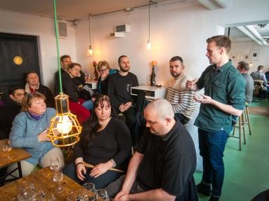 Mikkeller Gin Session ved Mads Mortensen. Photo: Michael Sperling.