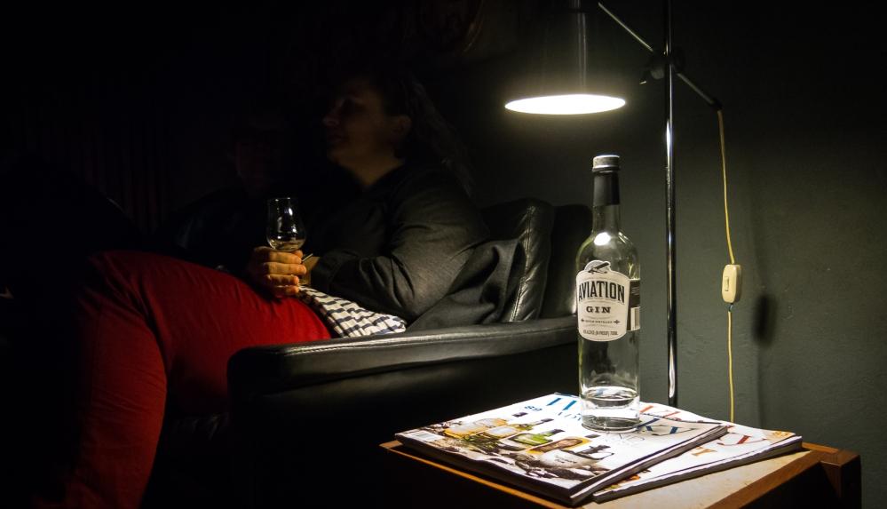 Aviation Gin. Photo: Michael Sperling.