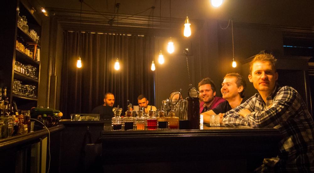 1656 Cocktailbar. Photo: Michael Sperling.