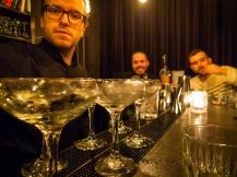 Geranium Gin Martinis. Photo: Michael Sperling.