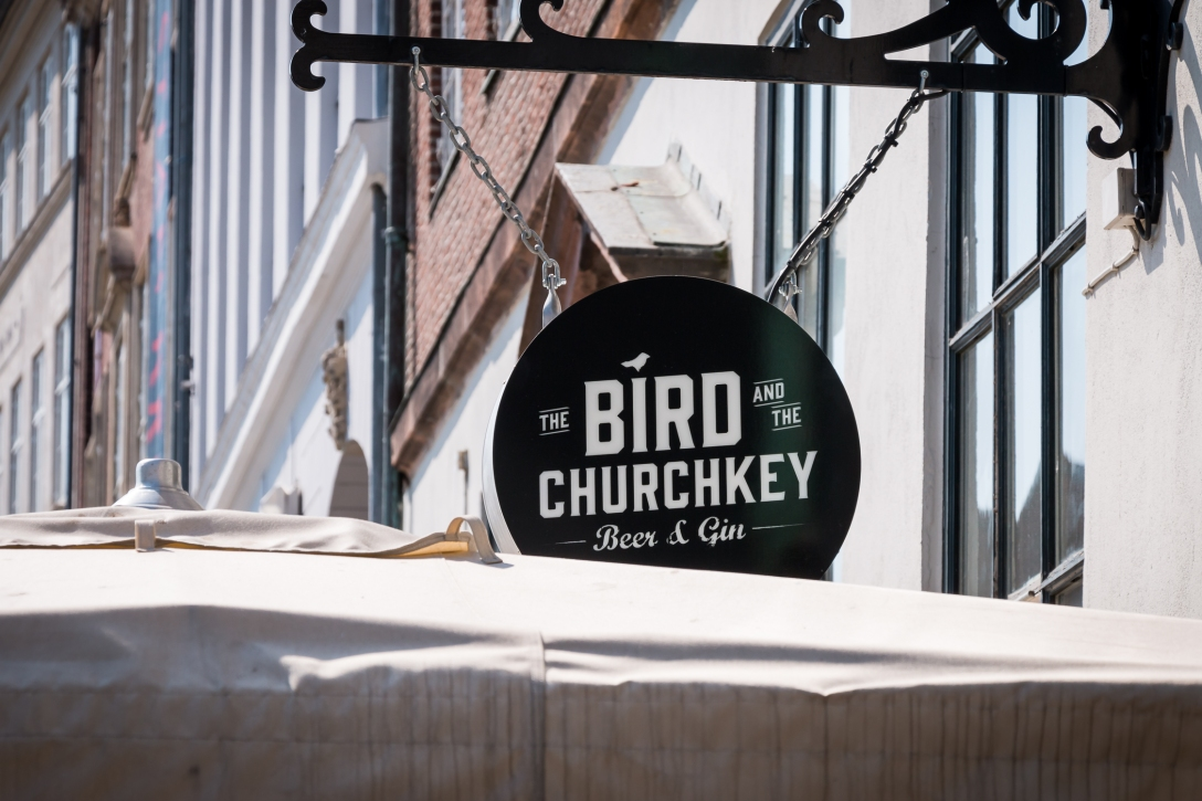 The Bird sign. Photo by Michael Sperling.