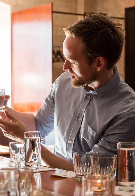 Gin Walker at Holmens Kanal. Photo by Michael Sperling.