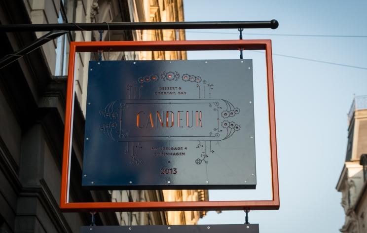 Candeur sign. Photo by Michael Sperling.