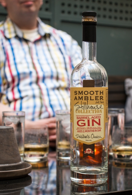 Smooth Ambler Barrel Aged Gin. Photo by Michael Sperling.