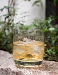 My DIY Old Fashioned. Photo by Michael Sperling.