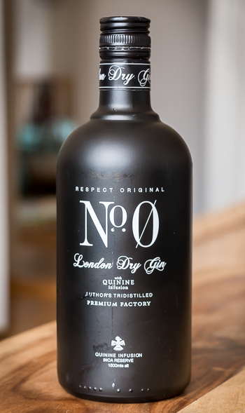 No. 0 Gin. Photo: Michael Sperling.