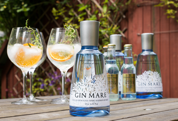 Gin Mare 0,5 L. Photo: Michael Sperling.