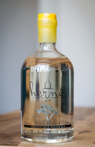 Hernö Juniper Cask Gin. Photo by Michael Sperling.
