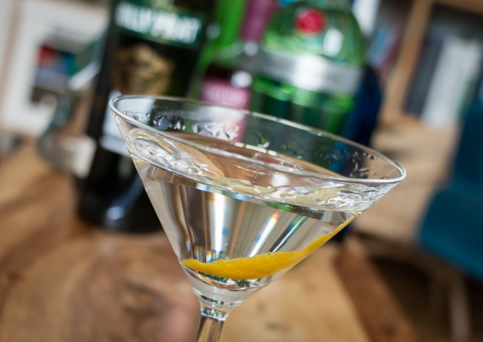 Tanqueray No. Ten Martini. Photo by Michael Sperling.