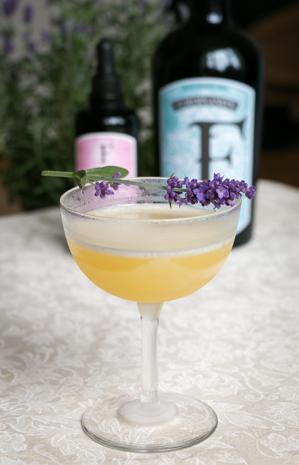 Bee's Knees with Ferdinand's Saar Dry Gin and bitter. Photo by Michael Sperling.