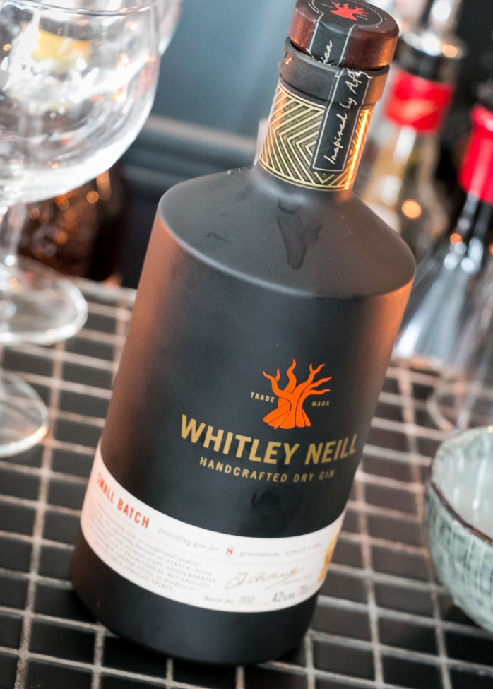 Whitley Neill Gin at K-Bar. Photo by Michael Sperling.