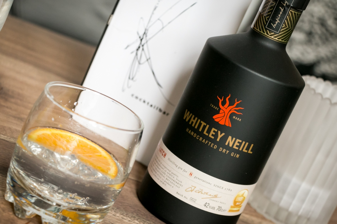 Whitley Neill Gin and Tonic. Photo by Michael Sperling.