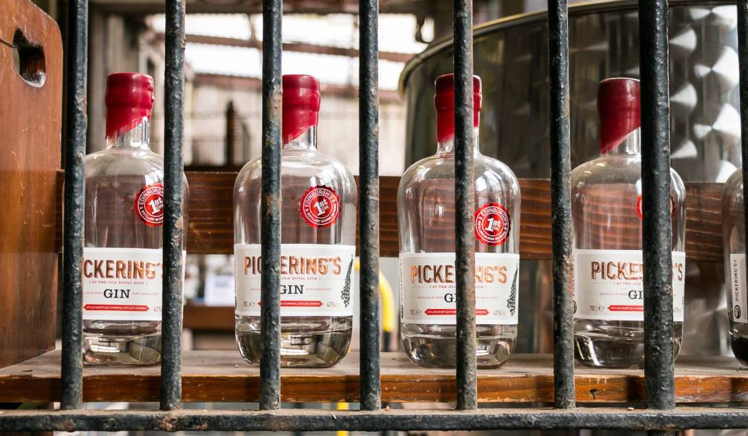Pickering's Gin - Gin of Scotland. Photo by Michael Sperling.